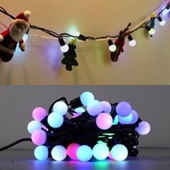 LED 볼츄리 50구 5W 투명선 무점멸기