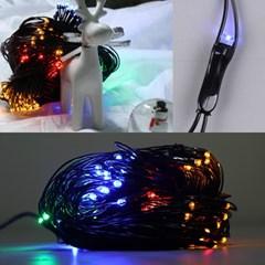 LED 네트 160구 8W 검정선 무점멸기 (혼합칼라)