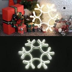 LED 24V 엣지플러스 눈결정 10W 투명선 무점멸기 (백색)