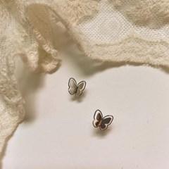 [봄밤달] 나비의 잔상 귀걸이