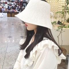 여름 바캉스 데일리 패션 챙넓은 니트 썬캡 모자