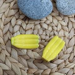 바나나 젓가락받침 1송이 2color (1P)