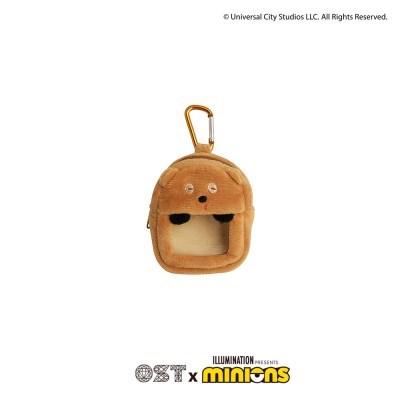 [미니언즈XOST] 곰인형 에어팟용 윈도우 봉제케이스 OTI120602CNX