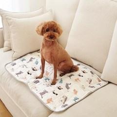 강아지쿨매트 인견매트(대)- 냥냥이