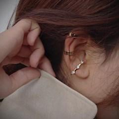 센수 루틴 [이어커프] SENSOO 귀안뚫는 딱붙는귀걸이 미_(184060)