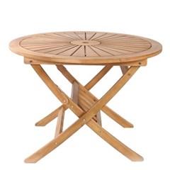유칼립 원목 접이식 테이블 1000