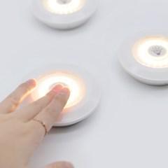 LED 무선 라이트 (리모컨 포함)_(1388187)