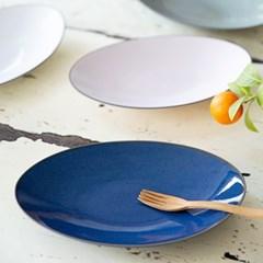 마리 타원 접시(색상선택)