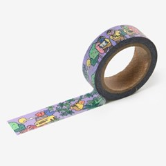 Jelly bear masking tape - 01 Adventure