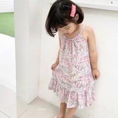 세) 로즈 아동 끈원피스