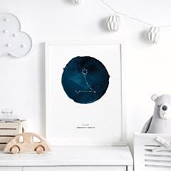 별자리 아이방 액자 동물 그림 포스터 12종