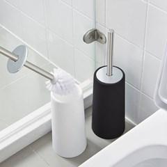 욕실청소 위생적인 일체형 스텐덮개손잡이 변기솔TB10_(1222368)