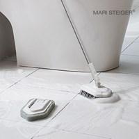 굽히지 않는 편안함 2헤드 화장실청소도구 바닥 청소 솔