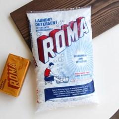 표백효과가 있는 로마 가루비누 세제 1kg