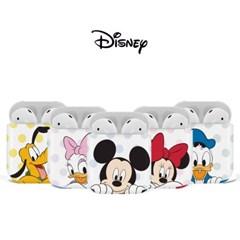 디즈니 미키와 친구들 도트 에어팟 케이스