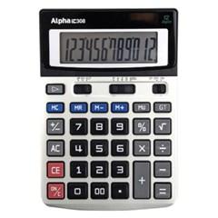 [알파] 계산기 IC-308 12단_(12648381)