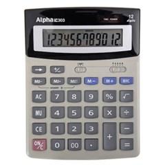 [알파] 계산기 IC-303 12단 (대형계산기)_(12648379)
