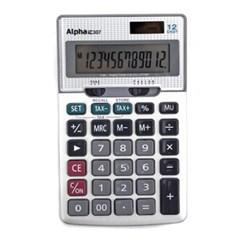 [알파] 계산기 IC-307 12단_(12648369)