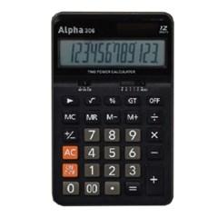 [알파] 계산기 IC-306 (12단)_(12648345)