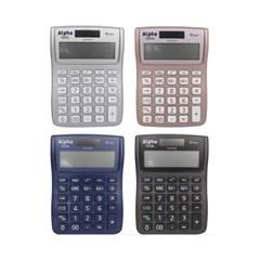 [알파] 계산기 IC-101(블랙/블루/실버/핑크)_(12648341)