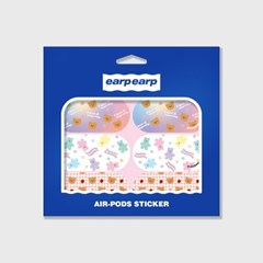 Earpearp air pods sticker pack-pastel pink_(1619541)