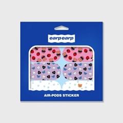 Earpearp air pods sticker pack-pastel blue_(1619538)