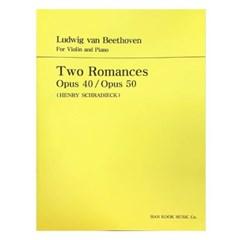 Two Romances Opus 40 / Opus 50(HENRY SCHRADIECK)
