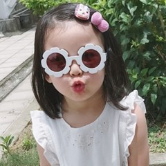 돌핀웨일 꽃선글라스(KIDS FREE)