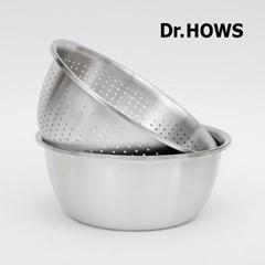 [닥터하우스] 멀티 믹싱볼+콜렌더 2종 세트 28cm_(1619739)