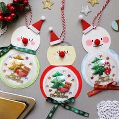 크리스마스 품은 눈사람10set_(1314330)