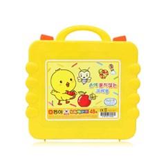 [동아] 노랑병아리 크레용 48색