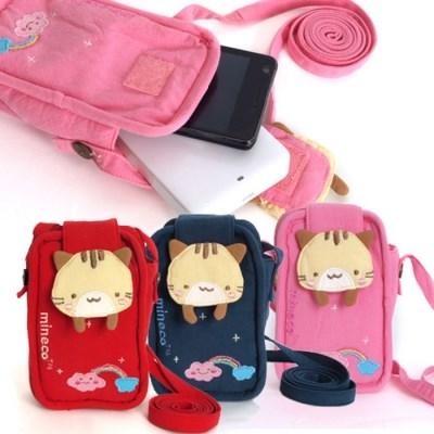 미네코 핸드폰 파우치 가방
