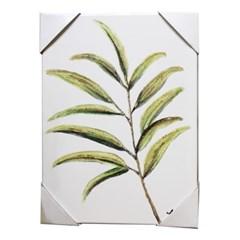 앳하스홈 아트 캔버스 픽처 30*40cm_ 찻잎 가지 [tea leaves branch]