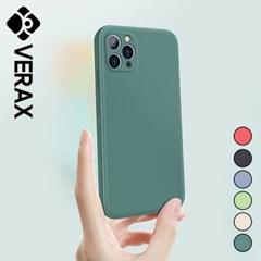 아이폰11프로맥스 심플 파스텔 실리콘 케이스 P493_(2914641)