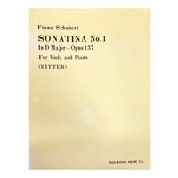 (전시상품) Franz Schubert SONATINA No.1 In D Major - Opus 137