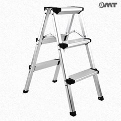 OMT 작업용/가정용 접이식 A형 사다리 3단 74cm 스텝스툴