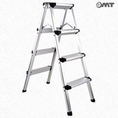 OMT 작업용/가정용 접이식 A형 사다리 4단 98cm 스텝스툴