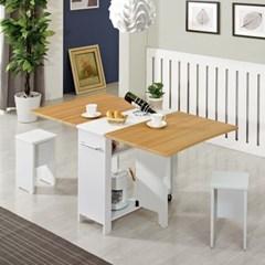 접이식테이블 식탁 홈카페 접이식식탁 2인용테이블