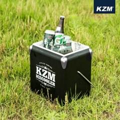 카즈미 큐브 아이스쿨러 13L 블랙 K20T3K010 /아이스박스 쿨러백
