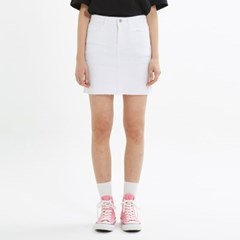 FITTED SKIRT_WHITE