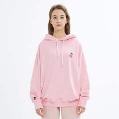 SMALL LOGO HOODIE_PINK
