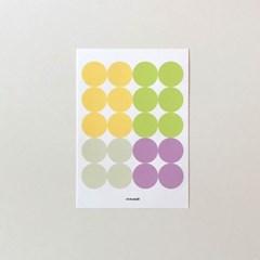 Dot sticker - spring 03