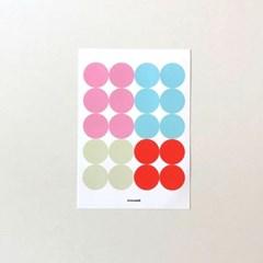 Dot sticker - spring 02