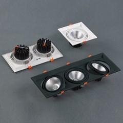 LED 매입등 멀티 싱크라인 1등 2등 3등 COB 20W 40W 60W_(1896986)