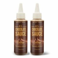 까로망 65℃ 초콜릿 토핑소스 170g 2개 세트_(903530)