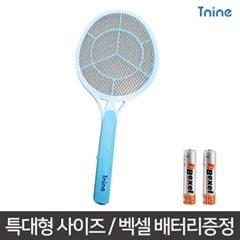 티나인 버그몬스터 특대형 전자 전기 모기채 파리채