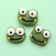 초록개구리 양모펠트1p_(1314503)