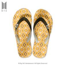 [BTS 공식라이선스] BTS IDOL 플립플랍 샌들_옐로우