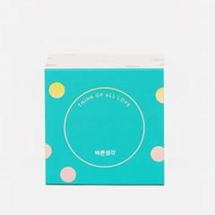 바른생각 시그니처 기프트박스(Best 콘돔 5종)