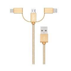 [엑토] 멀티데이터케이블 3in1 USB-33 (1M) 2컬러_(12657254)